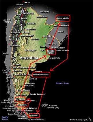 Argentina, un destino ideal para disfrutar de la naturaleza