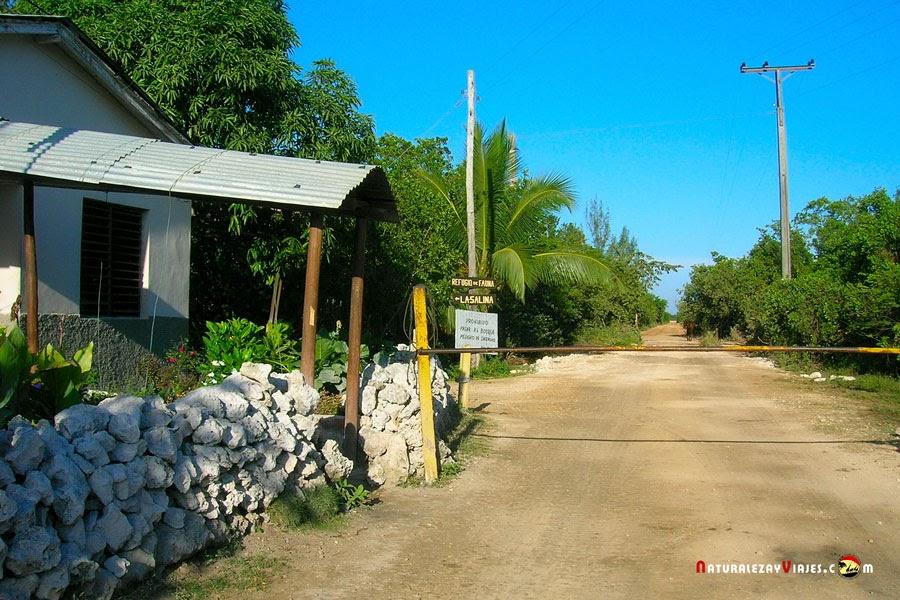 Acceso al Parque Nacional Ciénaga de Zapata