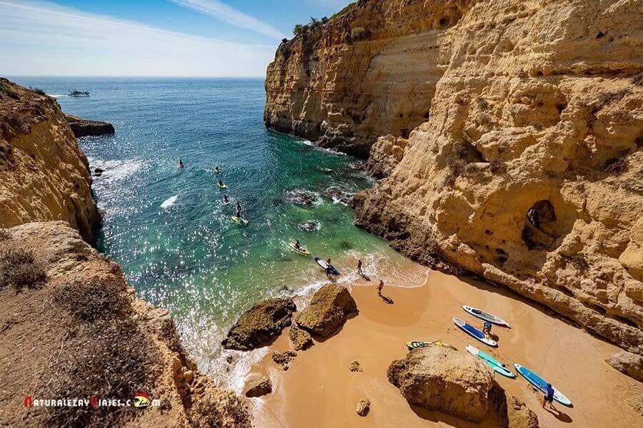 Playa Algarve para dormir