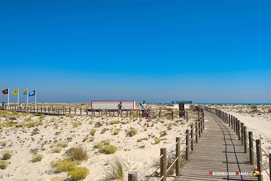 Acceso a la Isla de Armona, Algarve