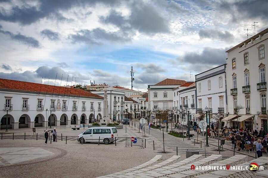 Plaza de la República Tavira