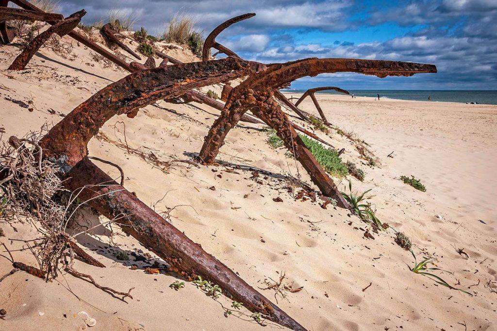 Playa Barril, Algarve, ideal para la ruta por las playas vírgenes