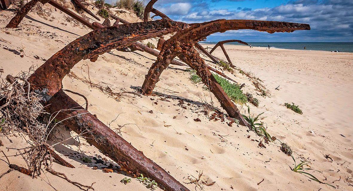 Praia do Barril, una de las playas más bonitas del Algarve portugués