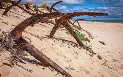 Playa del Barril, una de las playas más bonitas del Algarve portugués