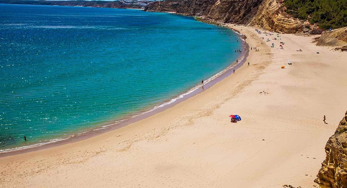 Praia da Cabanas Velhas, el paraiso del Algarve