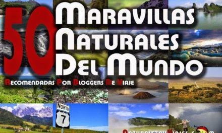 50 maravillas naturales del mundo recomendadas por bloggers de viaje
