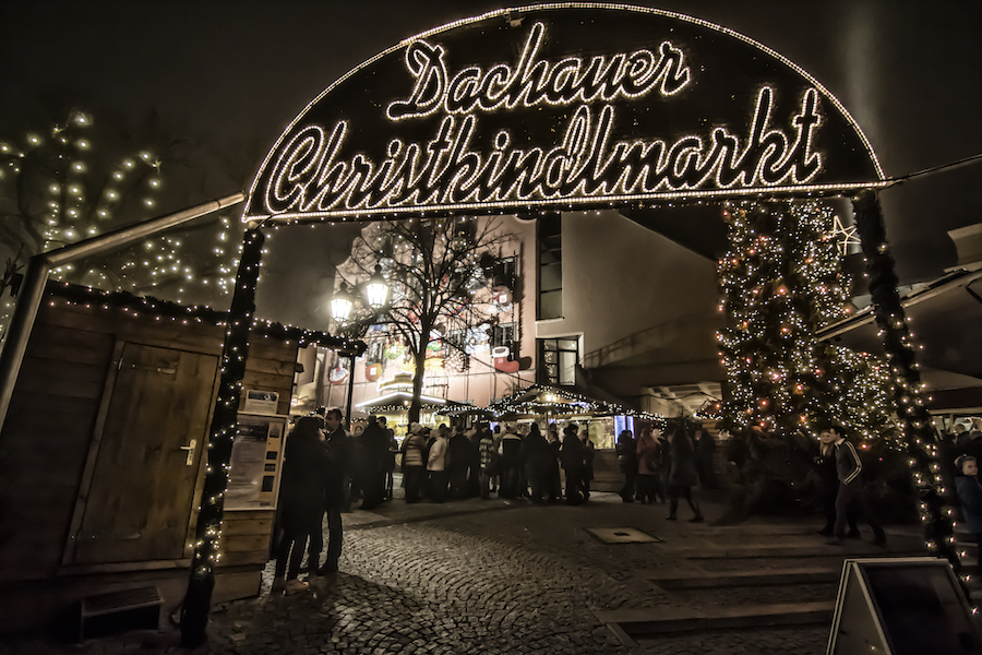 Mercado de Navidad de Dachau