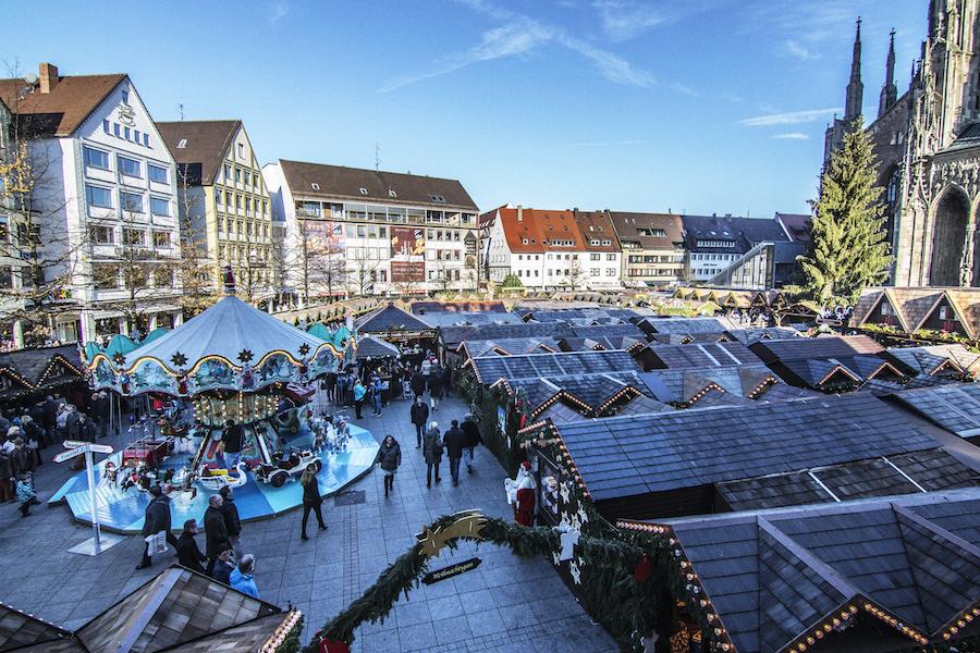 Mercado de navidad de Ulm