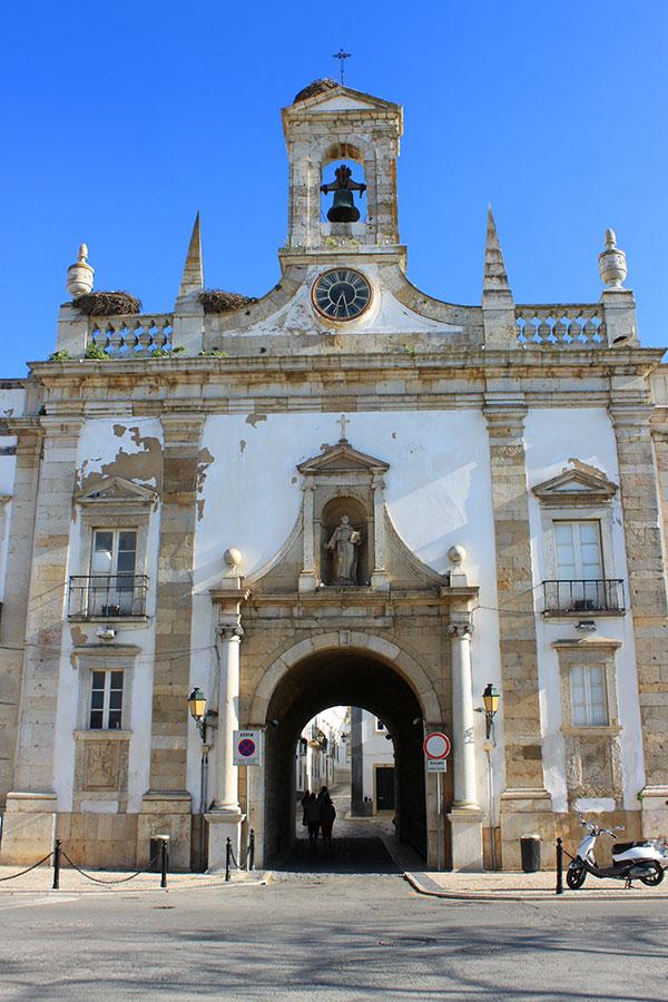 Arco de la Villa, Faro, Algarve