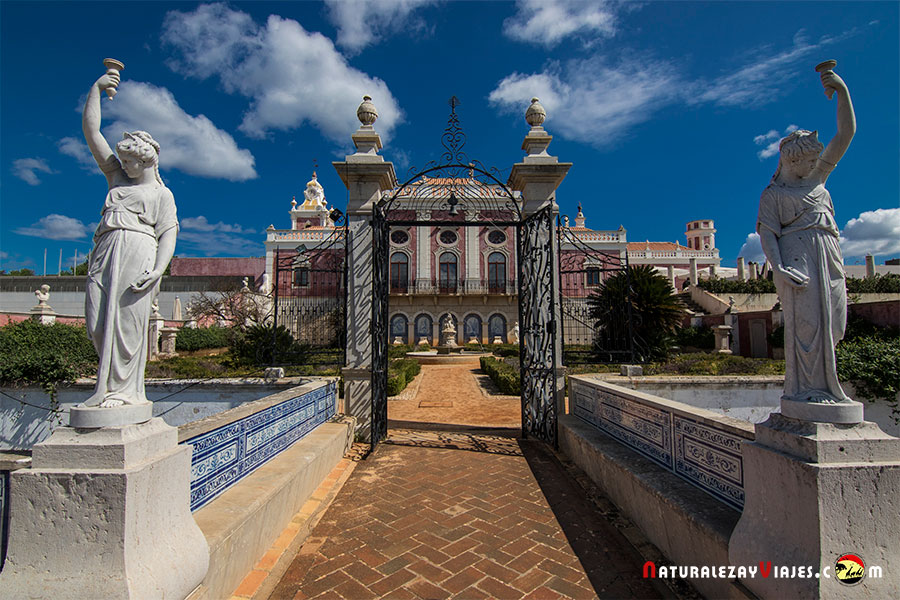 Estoi (Faro), elegancia y esencia portuguesa en el Algarve