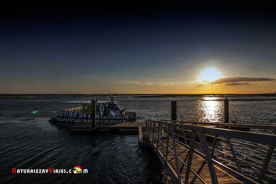 Barco a Isla Desierta, Algarve