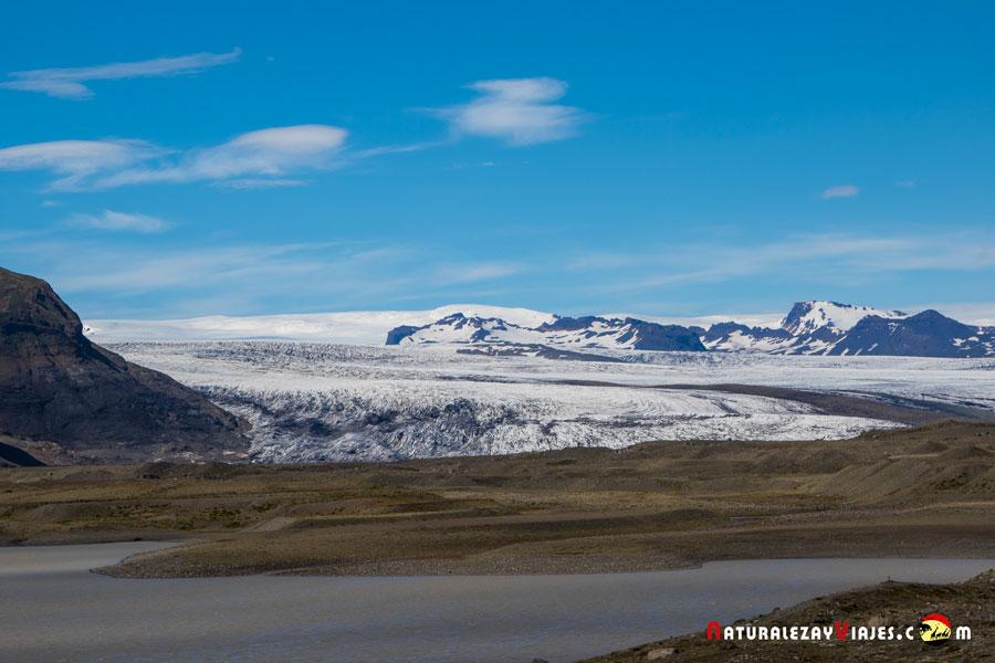 Breiðamerkurjökull, Islandia