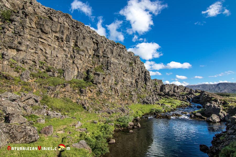 Drekkingarhylur, Parque Nacional Thingvellir Islandia