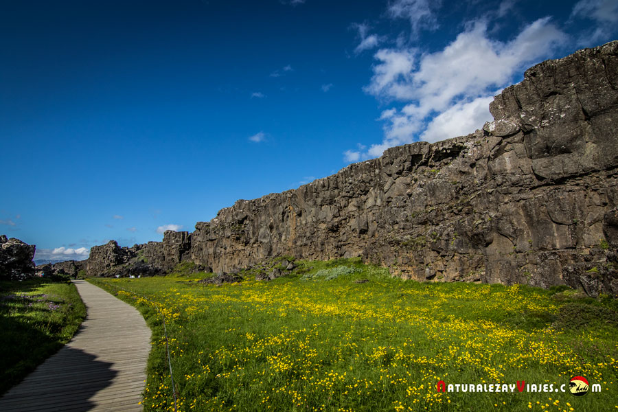 Almannagjá, Islandia