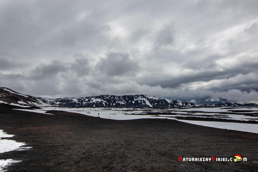 Askja, Islandia, Tierras Altas Islandia Highlands