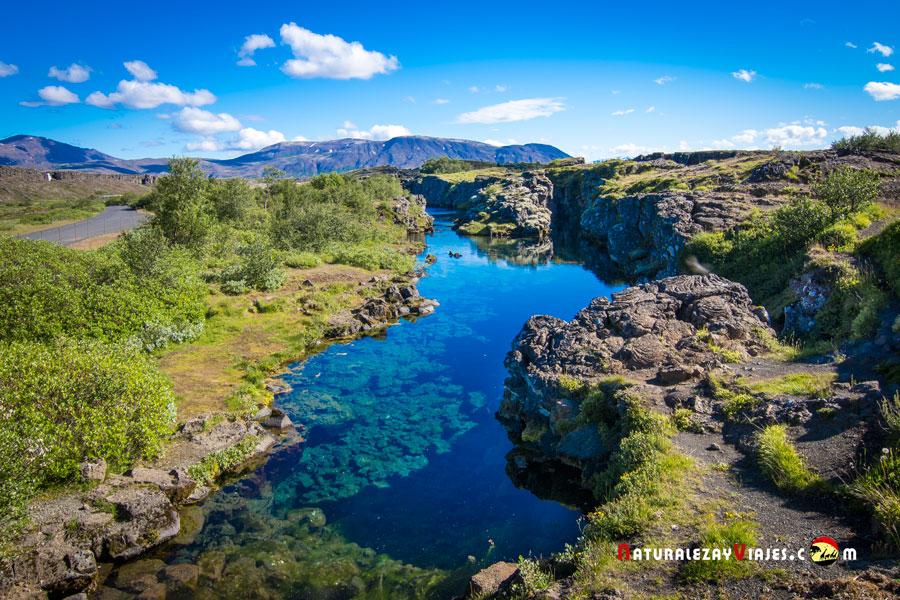 Flosagjá, Parque Nacional Thingvellir Islandia