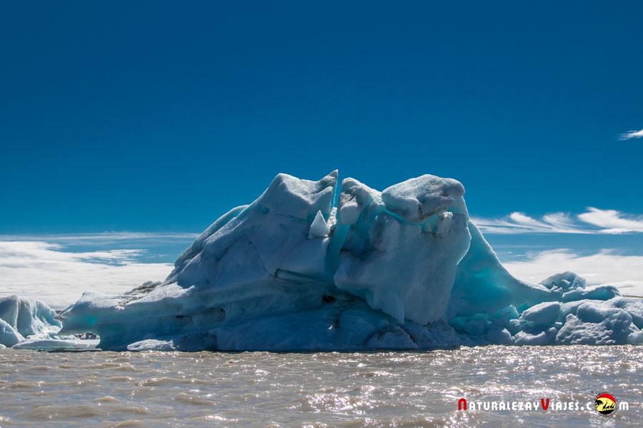 Iceberg en Fjallsárlón, Islandia