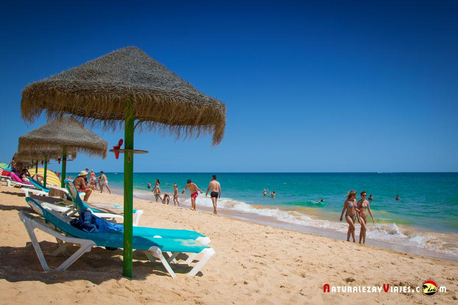 Falésia, una de las playas más bonitas del Algarve