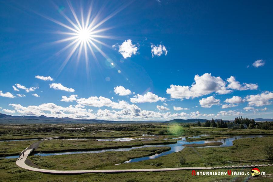 Thingvellir, Islandia
