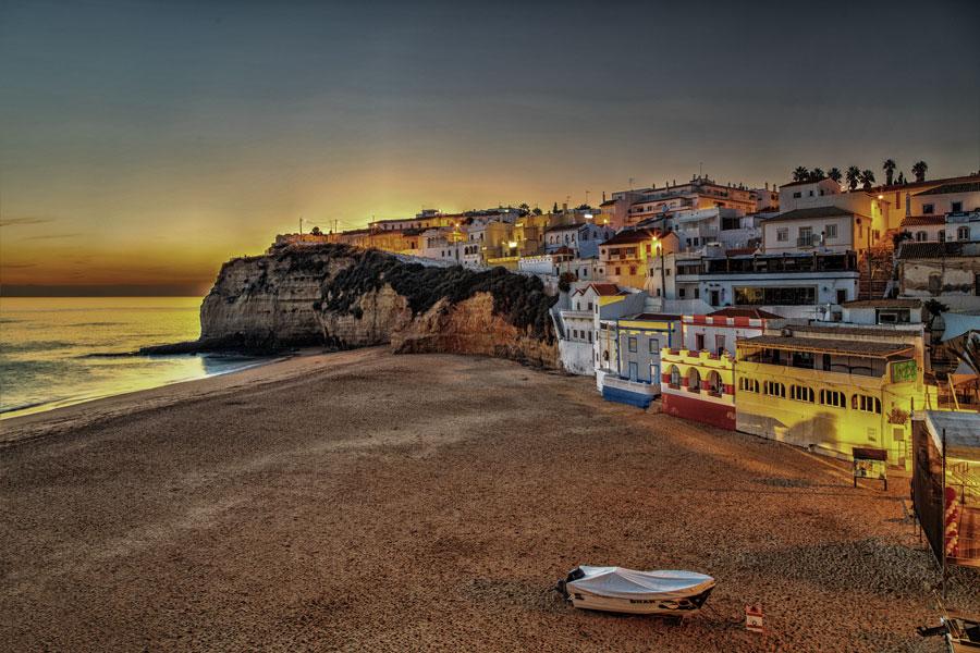 Carvoeiro en otoño, romanticismo en el corazón del Algarve