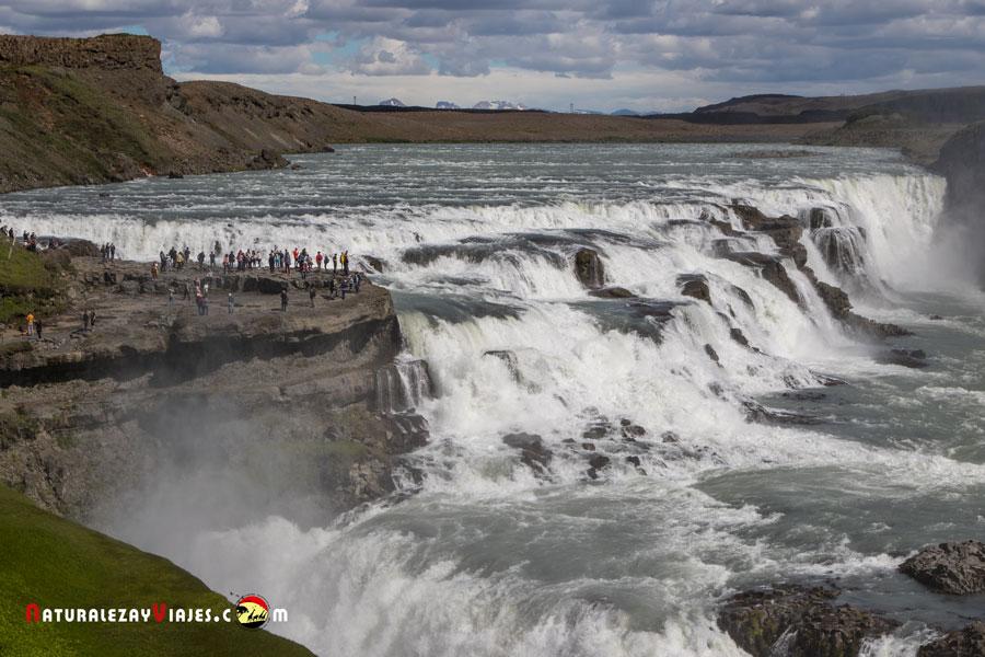cascada gullfoss, Islandia naturalmente, la película