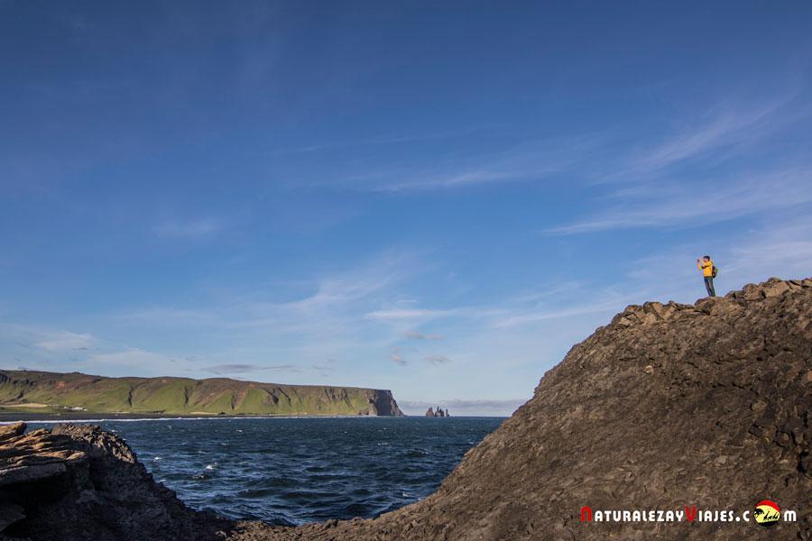 Reynisfjara, una de las Playas negras de Islandia