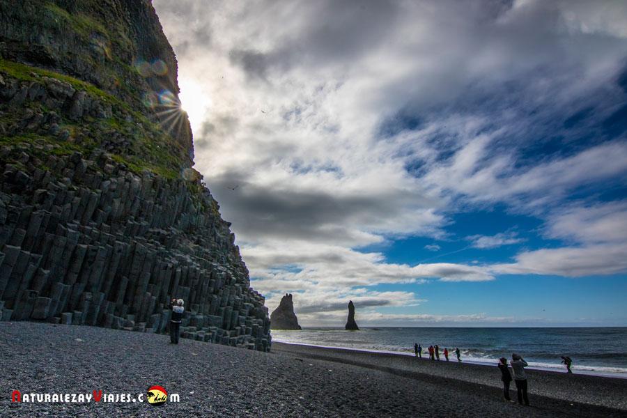 Reynisfjall, Islandia