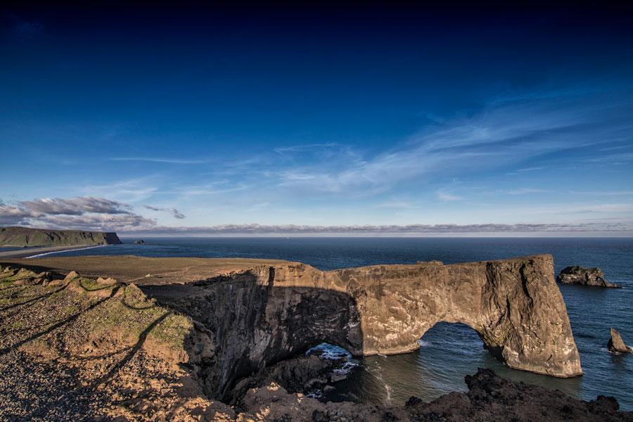 Arco de Dyrholaey, Islandia