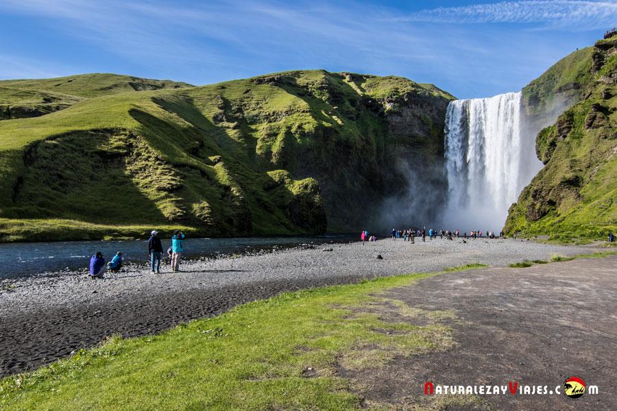 Skógafoss, la cascada más hermosa de Islandia