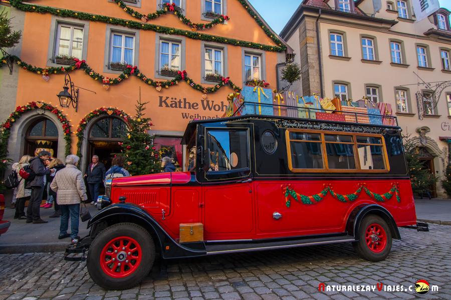 Käthe Wohlfahrt en Rothenburg ob der Tauber