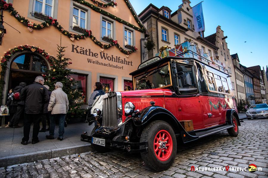 Mercado de Navidad de Rothenburg ob der Tauber, Alemania