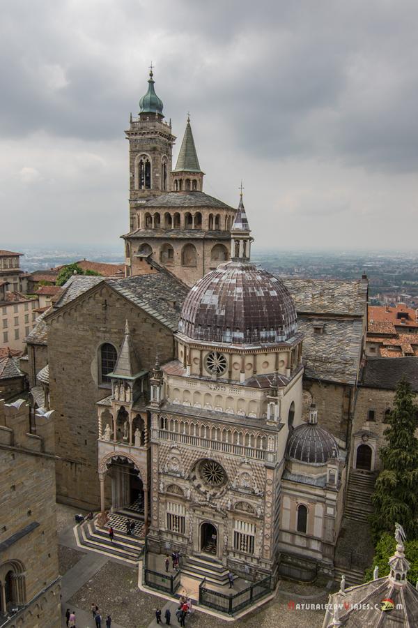 Piazza del Duomo vista desde lo alto del Campanone