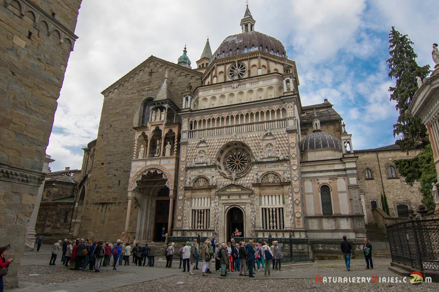 Baptisterio, Capilla Colleoni y Basílica Santa María Maggiore, Bérgamo