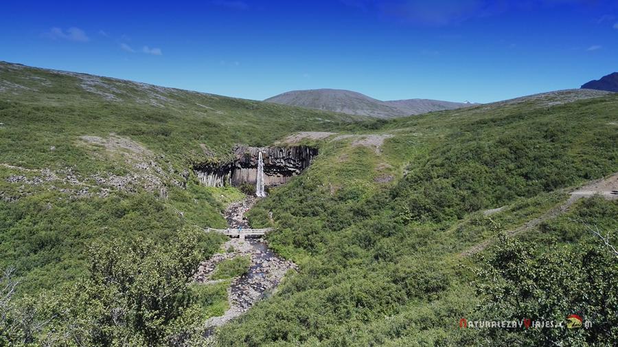 Cascadas de Islandia, Savrtifoss