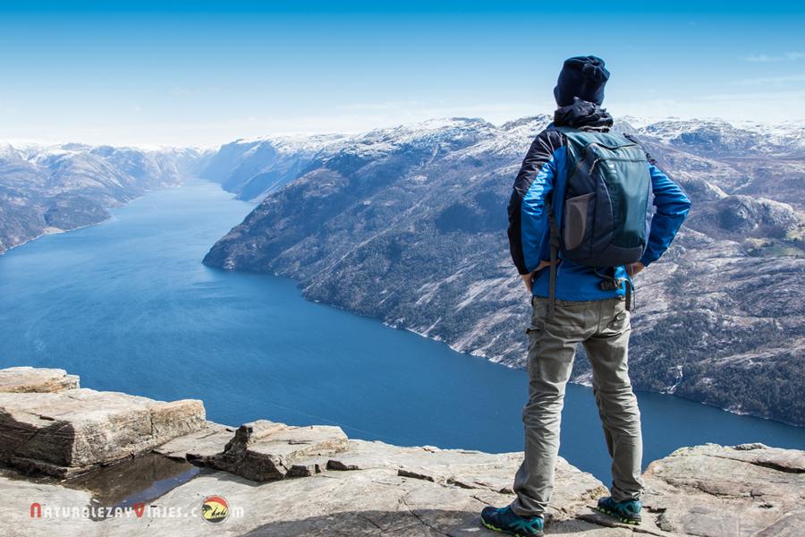 Preikestolen: ruta al Púlpito en Noruega