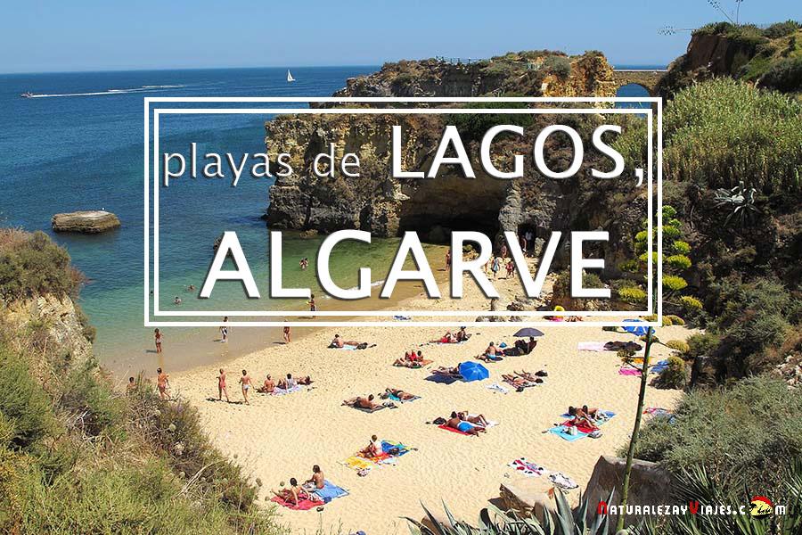 Las paradisiacas playas de Lagos, Algarve