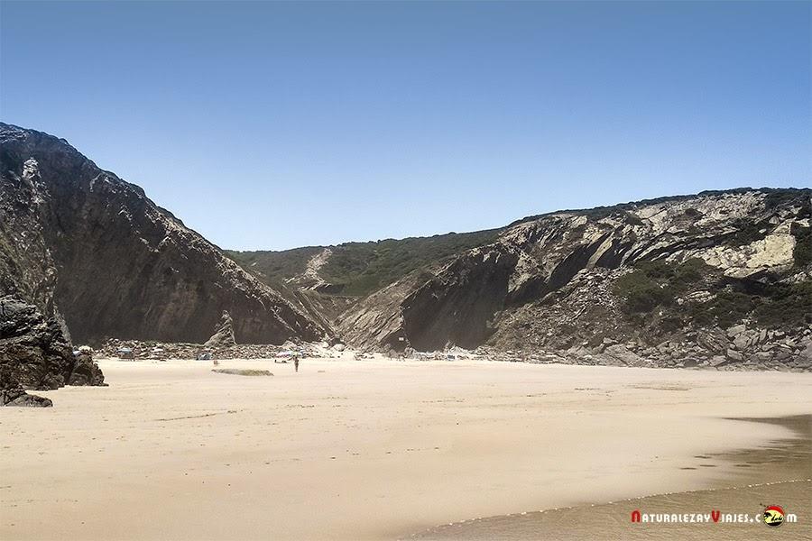 Playa adegas, Algarve