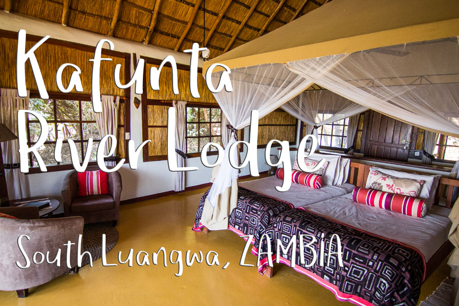 Kafunta River Lodge, alojamiento en South Luangwa (Zambia)