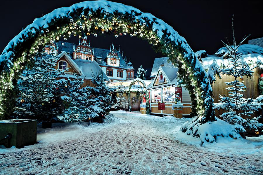 Mercado de Navidad alemán