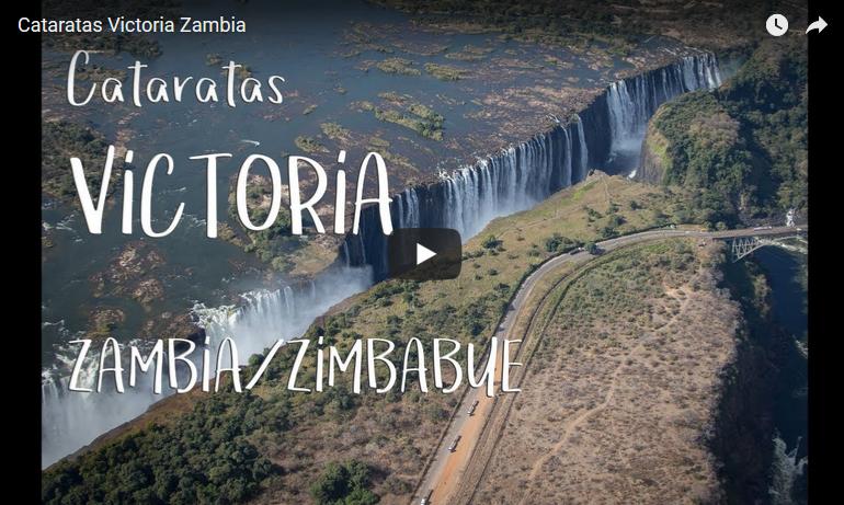 Cataratas Victoria (Zambia y Zimbabue). La película