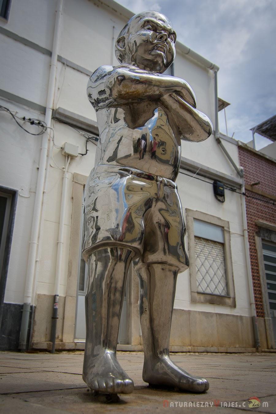 Niño ojos grandes, Olhão, Algarve