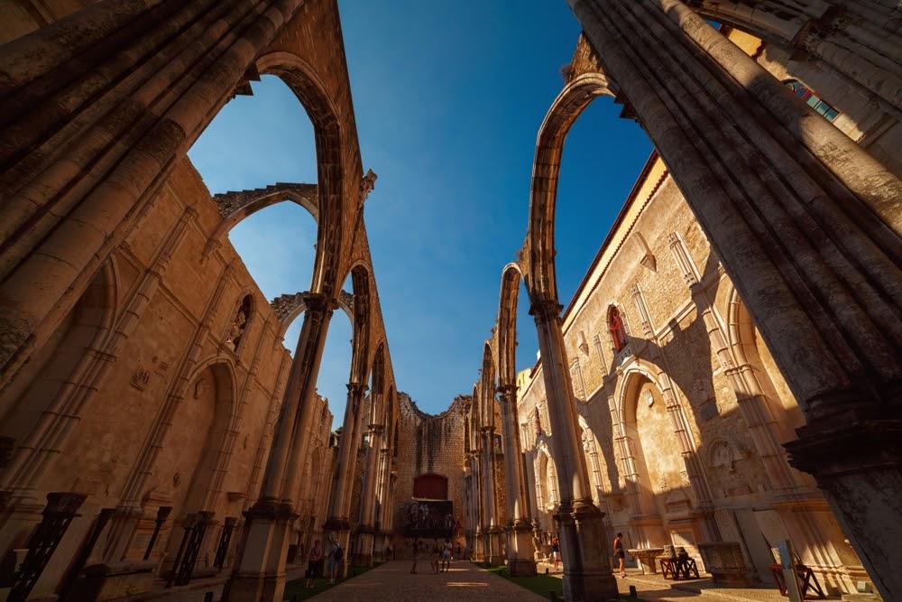 Convento do Carmo Lisboa en un fin de semana