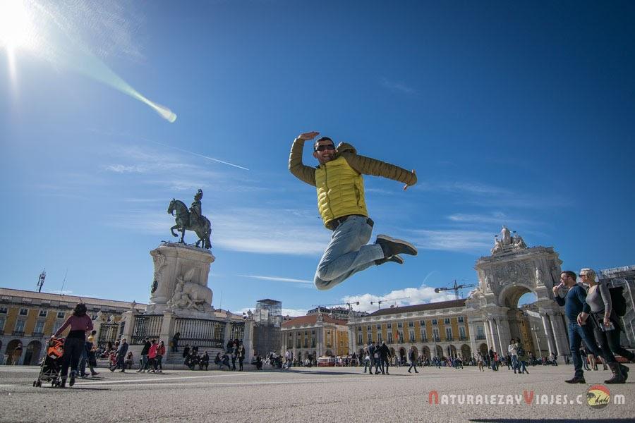 Plaza del Comercio, Lisboa en un fin de semana