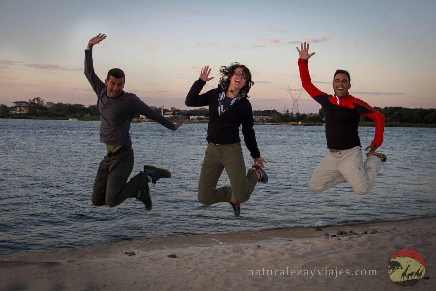 Alegría en Botswana