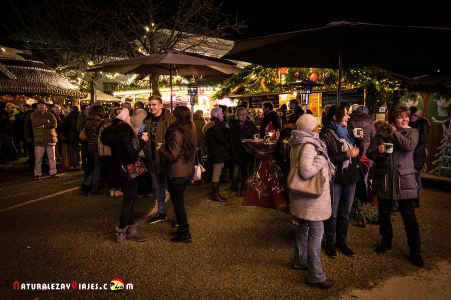 Mercado de navidad de Baden Baden, Alemania