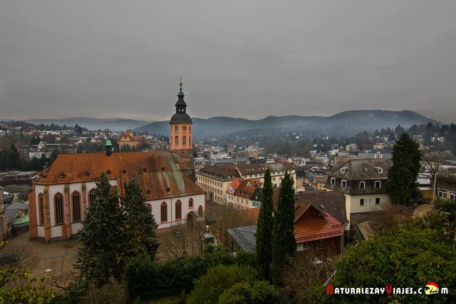 Baden Baden desde el mirador del Neues Schloss