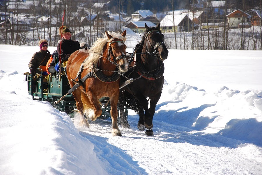 Invierno en Gosau
