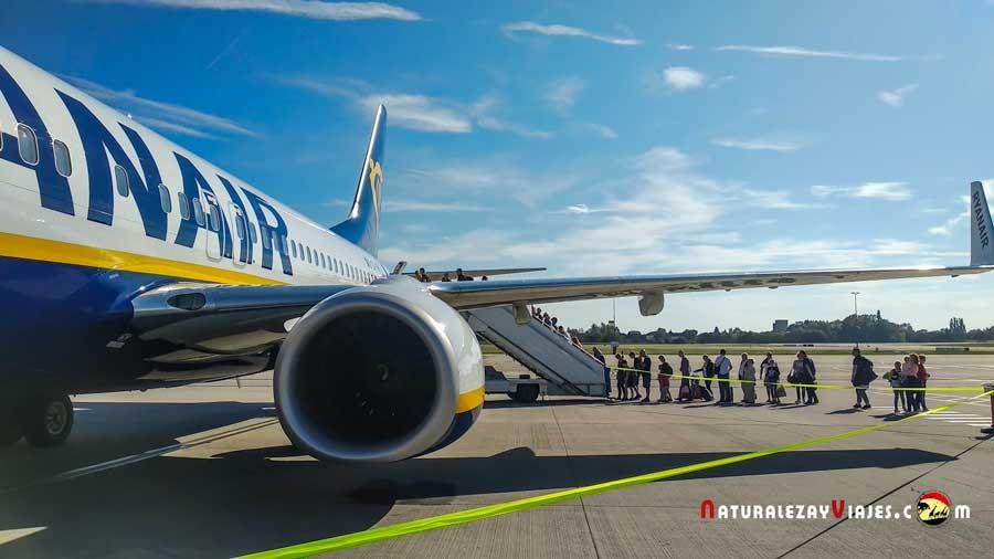 Ryanair en Charleroi