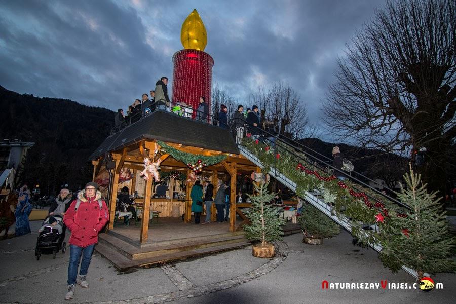 Mercado de navidad de St. Gilgen