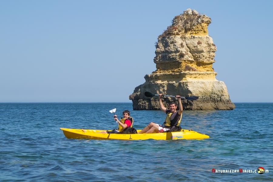 Kayak en playas de Lagos